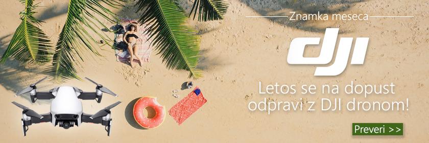 Z dronom bomo poletne počitnice zabavnejše