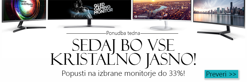 Znižane cene monitorjev