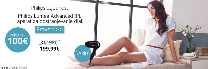 Philips Lumea Advanced IPL+DARILO
