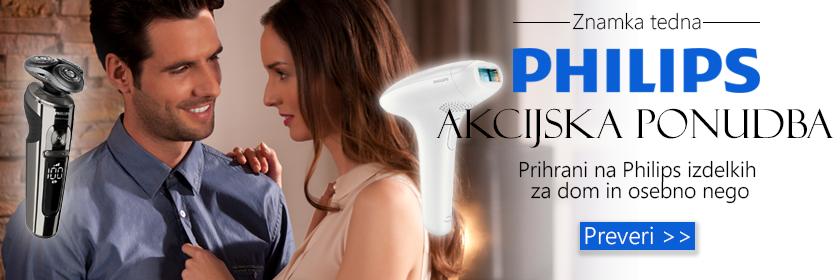 Philips poskrbi za vas in vaš dom - s popusti do 36%