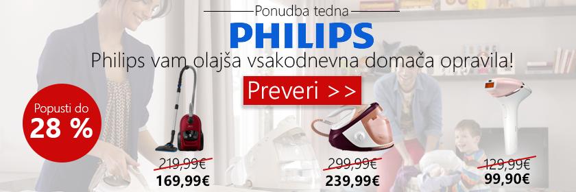 Znižanje na Philips izdelkih