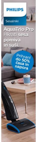 Prihrani do 50% časa s Philips AquaTrio Pro