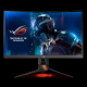 ASUS PG27VQ 27'' ROG SWIFT Gaming ukrivljen monitor, 2560 x 1440, 1ms, 165Hz, DisplayPort,