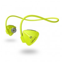 Slušalke Avanca D1 Sports, In-ear, Bluetooth 4.1, NFC, neon rumene