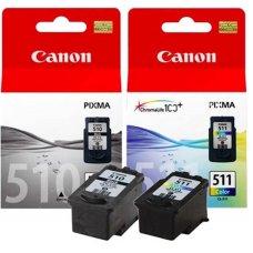 Canon originalen komplet kartuš PG-510 črna + CL-511 barvna, 2970B010