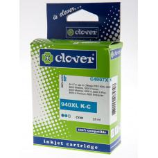 Clover črnilo za HP 940XL Cyan Officejet Ink Cart (zam C4907A)