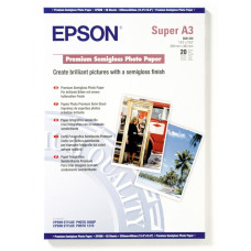 PAPIR EPSON A3+, 20L PREMIUM SEMIGLOSS, 251g/m2