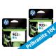 HP originalno dvojno pakiranje kartuše 903 XL, modra, 2x825 str