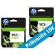 HP originalno dvojno pakiranje kartuše 903 XL, rumena, 2x825 str
