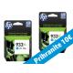 HP originalno dvojno pakiranje kartuše 933 XL modra, 2x825 str