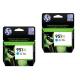 HP originalno dvojno pakiranje kartuše 951 XL modra, 2x1500 str