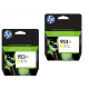 HP originalno dvojno pakiranje kartuše 953 XL rumena, 2x1600 str