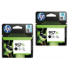 HP originalno dvojno pakiranje kartuše 957 XL, črna, 2x3000 str
