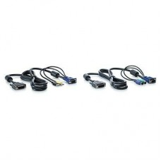 HP 1x4 KVM Console 6ft PS2 Cable 2-Pack