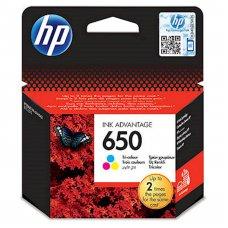 HP originalna kartuša 650 barvna za 200 str., CZ102A
