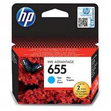 HP originalna kartuša 655 modra za 600 str., CZ110AE