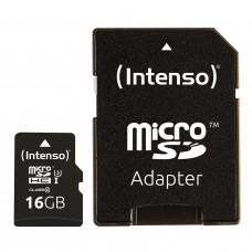 Intenso 16GB microSDXC UHS-I Class 10 Pro 90MB/s spominska kartica