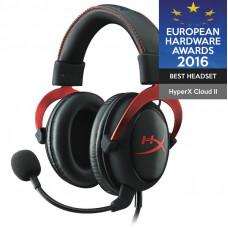 Slušalke Kingston HyperX Cloud II, Gaming, rdeče