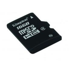 Spominska kartica micro SD KINGSTON 8 GB C4, prenos podatkov min 4MB/s, odporna (SDC4/8GBS