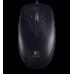 Miška Logitech M100, optična, črna, USB
