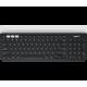 Tipkovnica Logitech K780 Multi-Device, Wireless, črna/bela, SLO g.