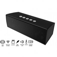 MANTA SPK440 Bluetooth zvočnik + woofer, BT/MicroSD/Radio FM/AUX-in črn