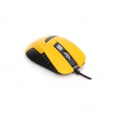 Omega optična gaming miška VARR OM-270 3200 DPI, rumena