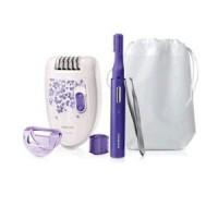 Philips komplet depilator, prirezovalnik, pinceta HP6543/00