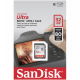 SDHC SANDISK 32GB ULTRA, 80MB/s, UHS-I C10
