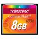 CF TRANSCEND 8GB 133X, 50/20MB/s, MLC
