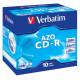 MEDIJ CD-R VERBATIM 10PK široke škatlice