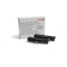 Xerox originalni toner 106R02782 črn za 2x3.000 strani, za Phaser 3052